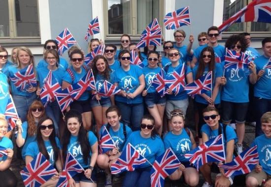 Barnsley Youth Choir kommer till Körkraft